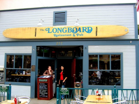 Longboard Restaurant & Pub in Huntington Beach, California
