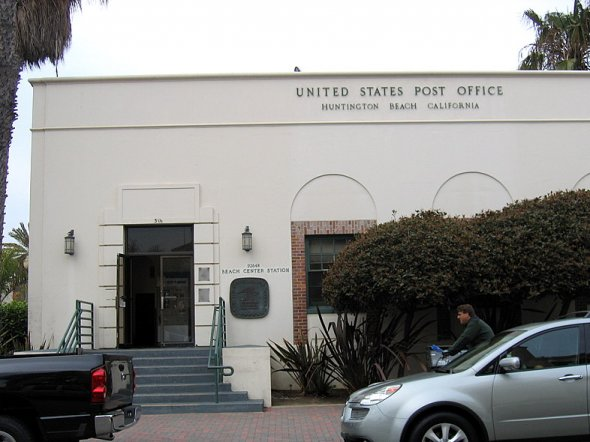 Post Office at 316 Olive Ave, 2 blocks from PCH